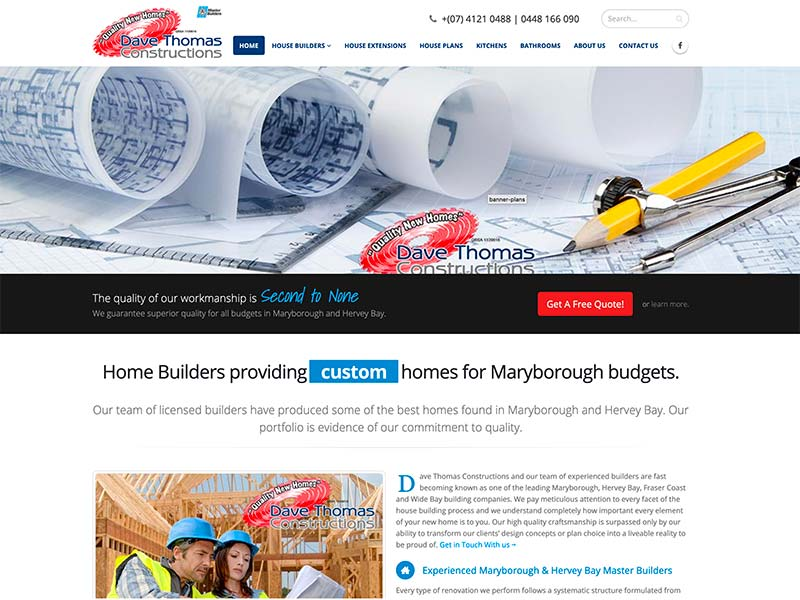 Dave Thomas Constructions Maryborough