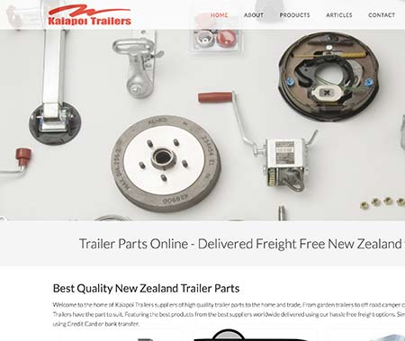 Kaiapoi Trailer Parts